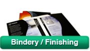 Bindery/Finishing